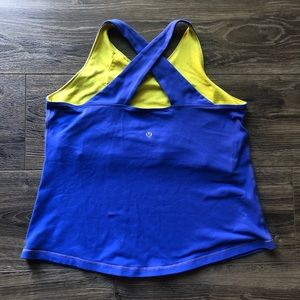 LuluLemon Criss Cross Tank